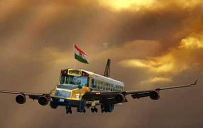 flying bus - ronan blog